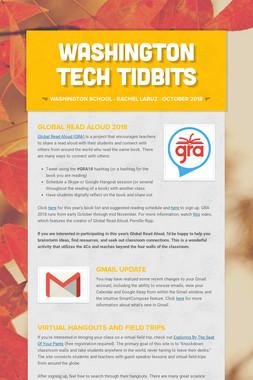 Washington Tech Tidbits