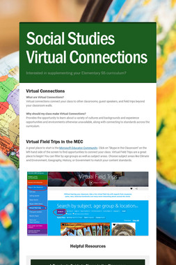 Social Studies Virtual Connections