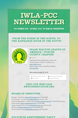IWLA-PCC NEWSLETTER