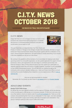 C.I.T.Y. News October 2018