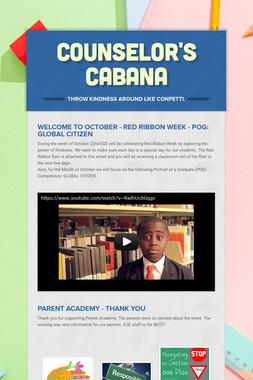 Counselor's  Cabana