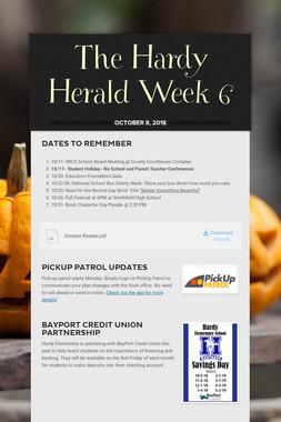 The Hardy Herald Week 6