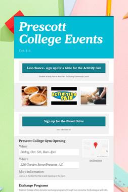 Prescott College Events