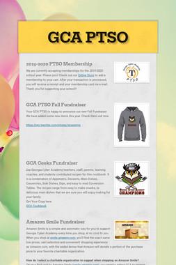GCA PTSO Fundraisers