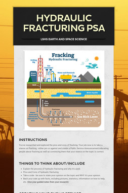 Hydraulic Fracturing PSA
