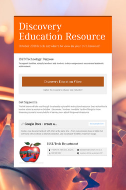Discovery Education Resource