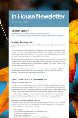 In House Newsletter