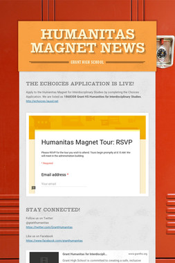 Humanitas Magnet News