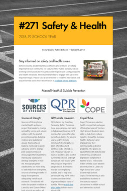 #271 Safety & Health