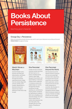Books About Persistence