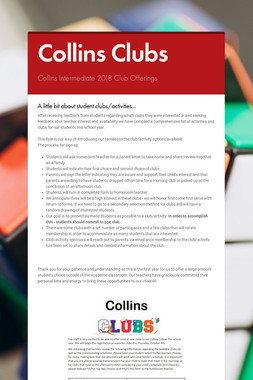 Collins Clubs