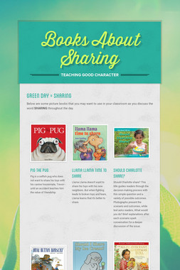 Books About Sharing