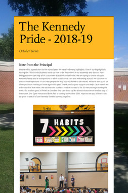 The Kennedy Pride - 2018-19