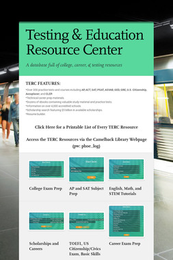 Testing & Education Resource Center