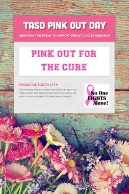 TASD PINK OUT DAY