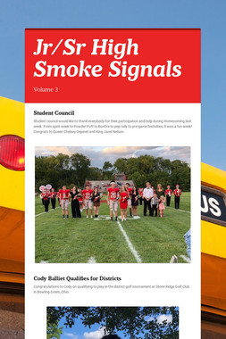 Jr/Sr High Smoke Signals