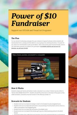 Power of $10 Fundraiser