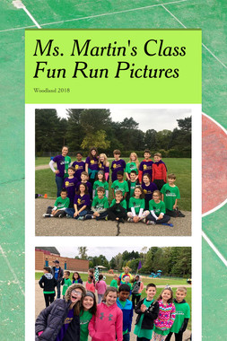 Ms. Martin's Class Fun Run Pictures