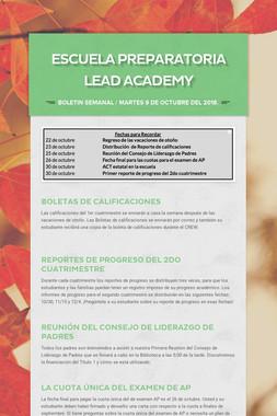 Escuela Preparatoria LEAD Academy