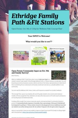 Ethridge Family Path &Fit Stations