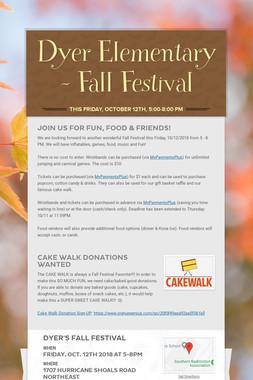 Dyer Elementary - Fall Festival