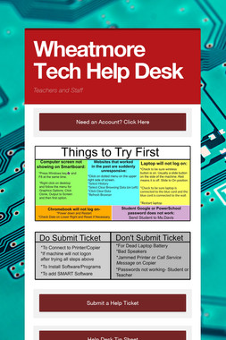 Wheatmore Tech Help Desk