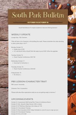 South Park Bulletin