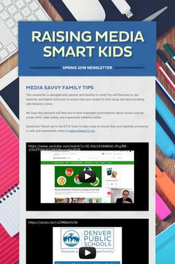 Raising Media Smart Kids