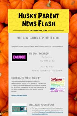 Husky Parent News Flash