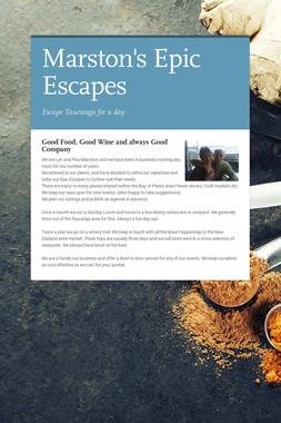Marston's Epic Escapes