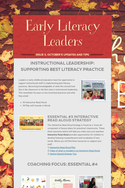 Early Literacy Leaders