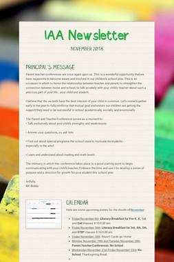IAA Newsletter
