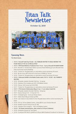 Titan Talk Newsletter