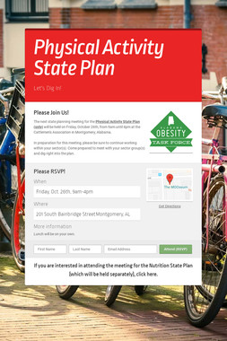 Physical Activity State Plan