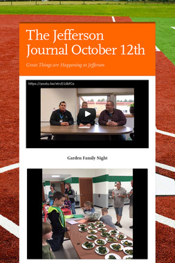 The Jefferson Journal October 12th