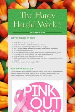 The Hardy Herald Week 7