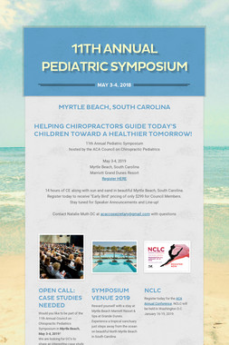 11th Annual Pediatric Symposium