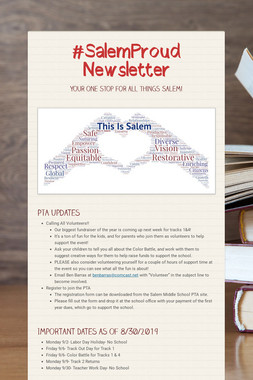 #SalemProud Newsletter