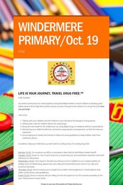 WINDERMERE PRIMARY/Oct. 19