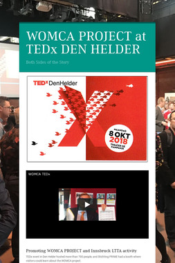 WOMCA PROJECT at  TEDx DEN HELDER