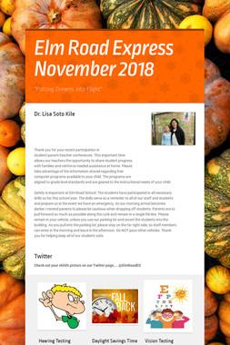 Elm Road Express November 2018