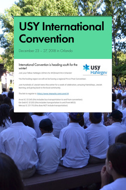 USY International Convention