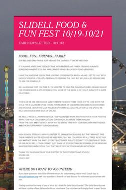 SLIDELL FOOD & FUN FEST 10/19-10/21