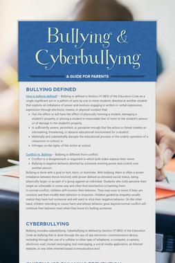 Bullying & Cyberbullying