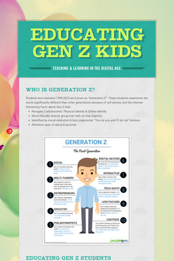 Educating Gen Z Kids
