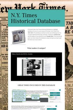 N.Y. Times Historical Database
