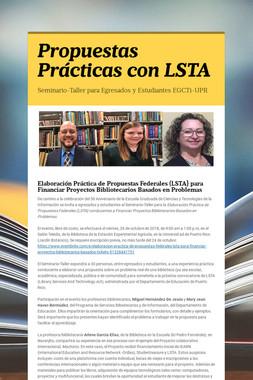 Propuestas Prácticas con LSTA