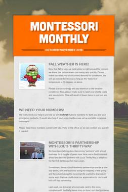 Montessori Monthly