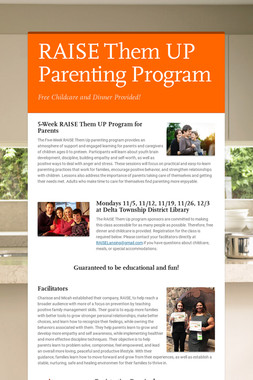 RAISE Them UP Parenting Program