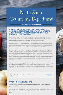 North Shore Counseling Department